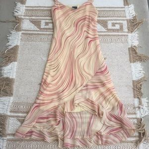 VINTAGE 90s High Low Dress